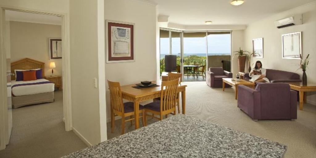 2 Bedroom Apartment: Ramada Marcoola Beach