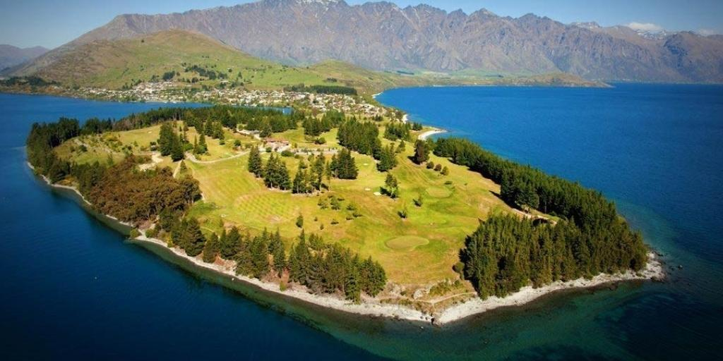 Aerial View Queenstown GC