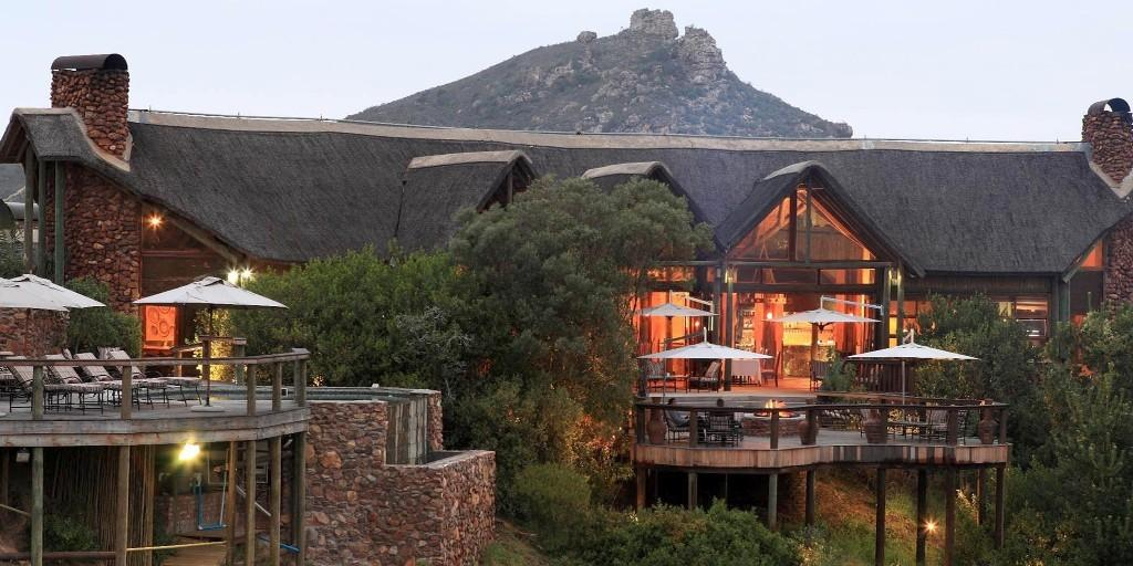 Main Lodge: Botlierskop Private Game Reserve