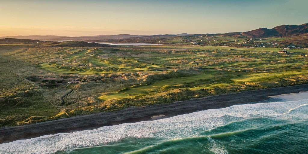Ballyliffin Golf Club (Glashedy Links): Aerial View