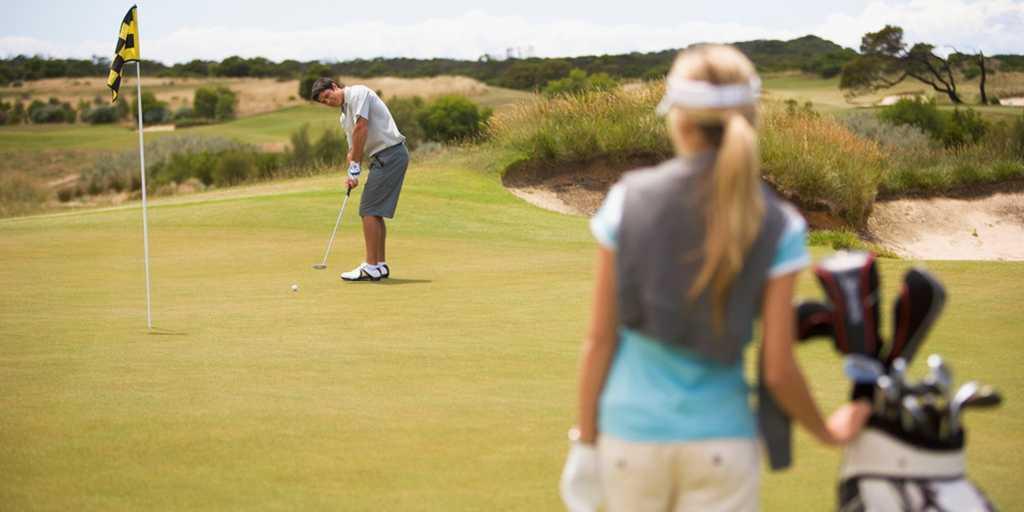 Golf Practice Area: Peppers The Sands Resort