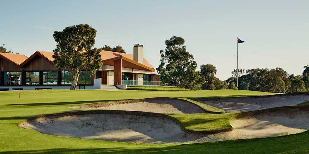 The Stunning Clubhouse at Huntingdale GC
