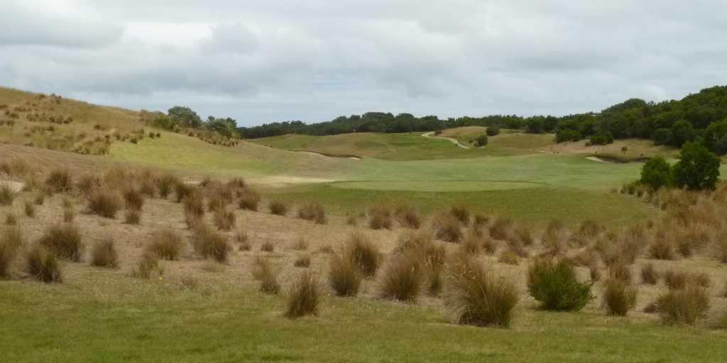 16th Tee Moonah Links Open Course
