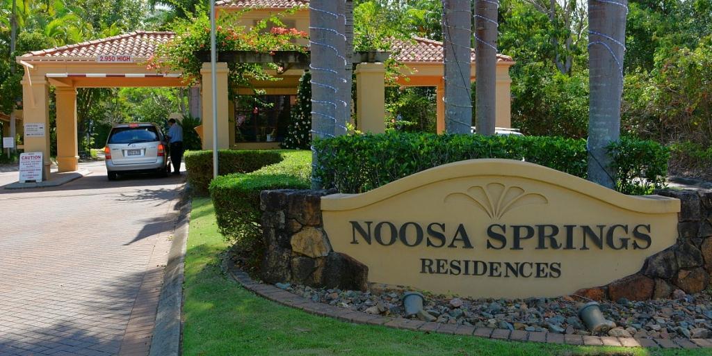 Entrance Noosa Springs