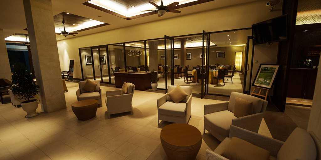 Club lounge at Laguna Lang Co GC