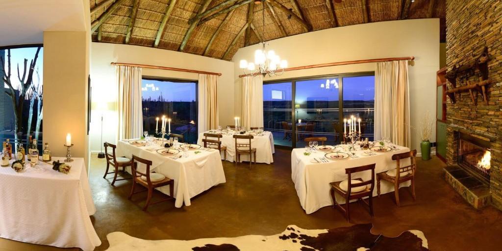 Shamwari: Sarili Lodge Dining