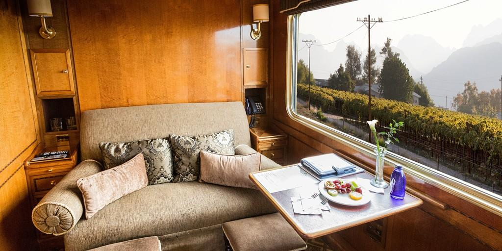 Blue Train: Luxury Suite in Day