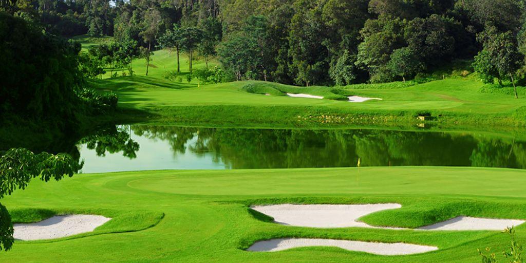 Hole 3 & 4 Ria Bintan Forest Course