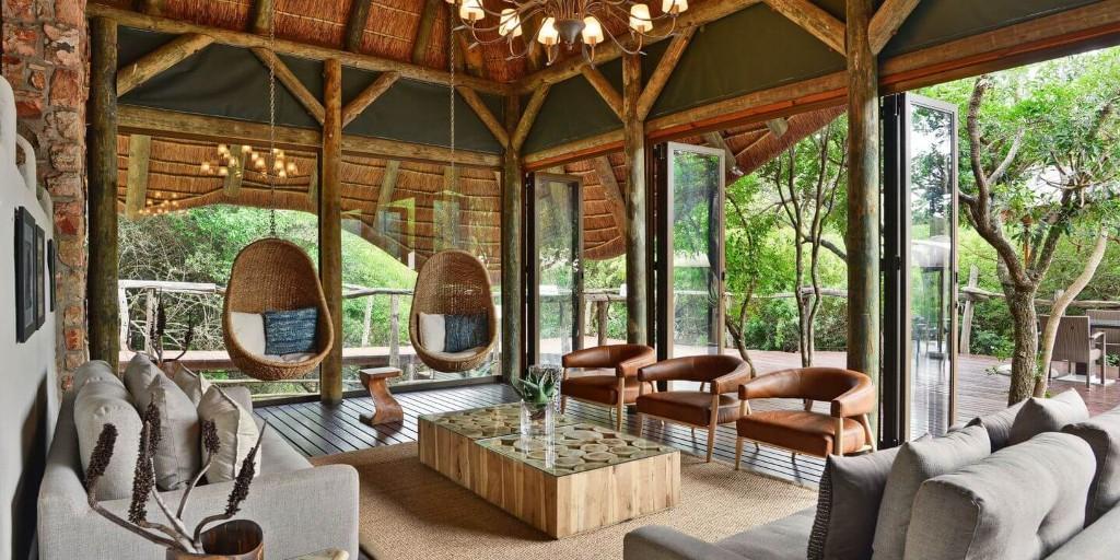 Shamwari; Bayethe Lounge