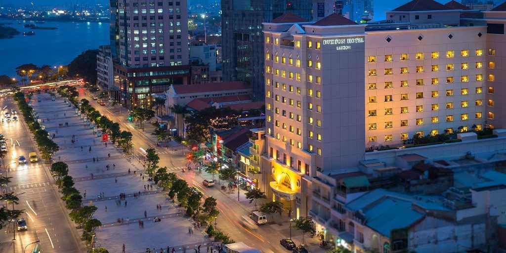 Start your tour in the vibrant Ho Chi Minh City, right next to the Saigon River