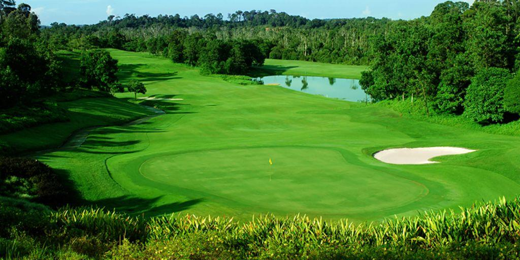Hole 9 Ria Bintan Forest Course