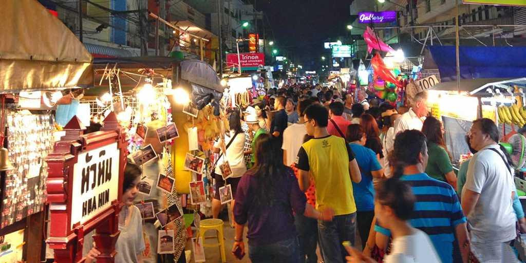 Shop till you drop at the Hua Hin night market