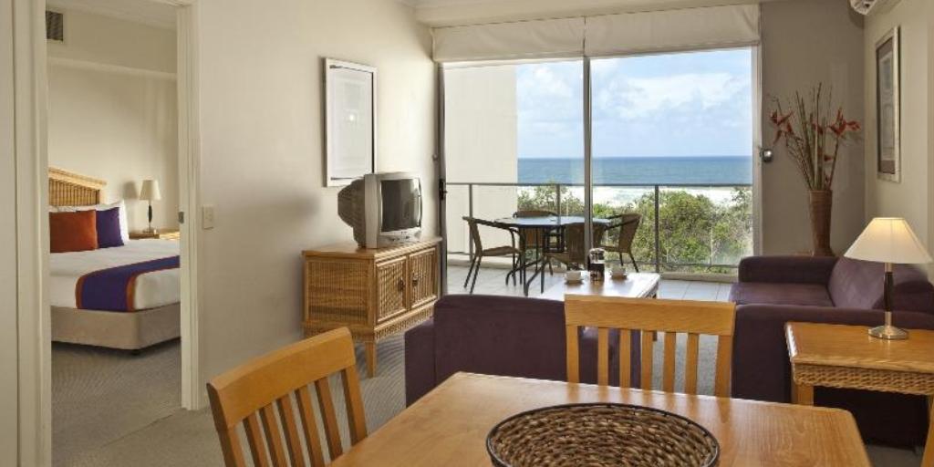 1 Bedroom Apartment:  Ramada Marcoola Beach