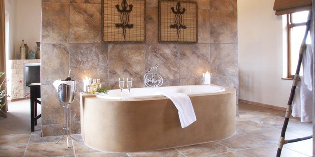 All luxurious bedrooms offer deep bath and double sinks