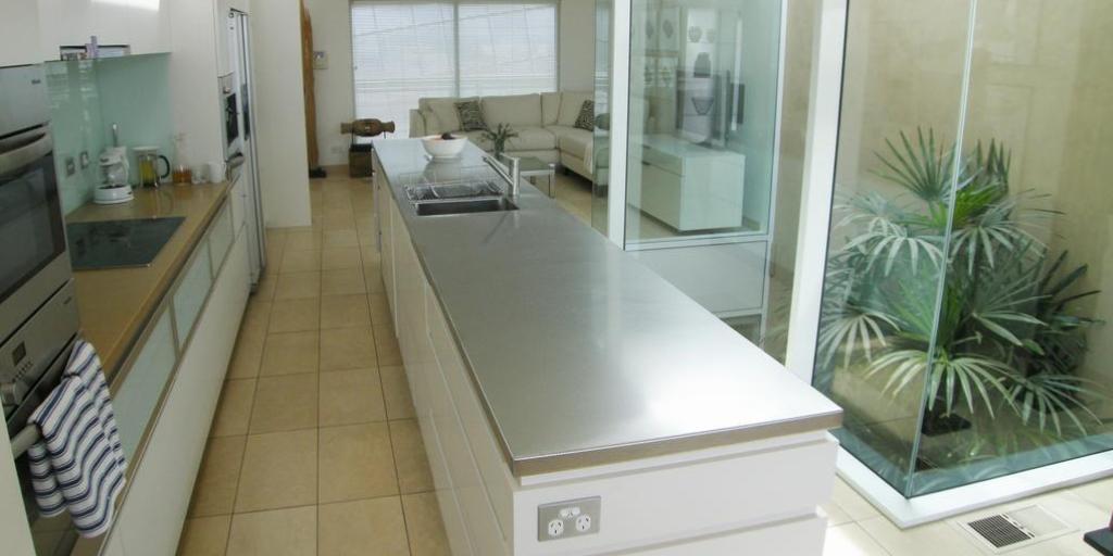 Kitchen Area: Sullivan's Cove Apartment