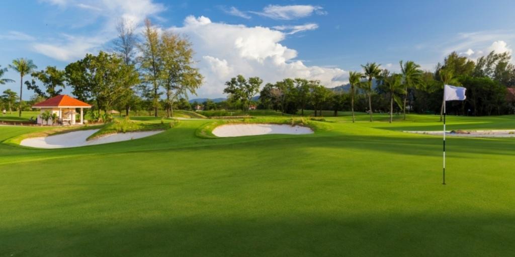 Hole 18 Laguna Phuket Golf Club