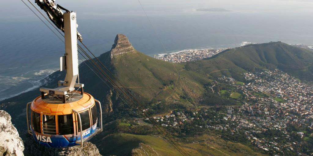 Don't miss the Table Mountain Cableway for views of a lifetime
