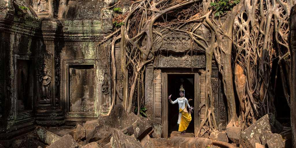 Ta Prohm temple - of Angelina Jolie's Tomb Raider fame