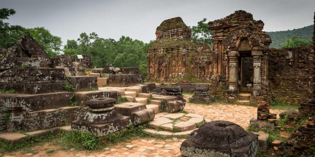 My Son Sanctuary - a UNESCO World Heritage Site of the ancient Champa kingdom