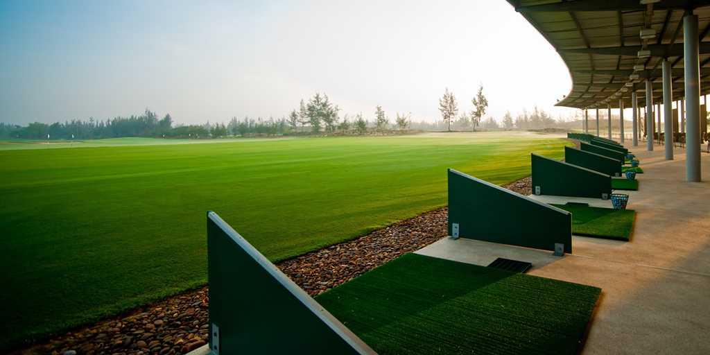 The superb practice facilities at Danang GC