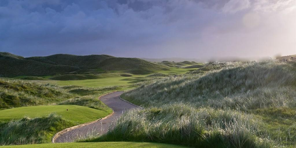 Ballyliffin Golf Club (Glashedy Links): par 4, 2nd Hole