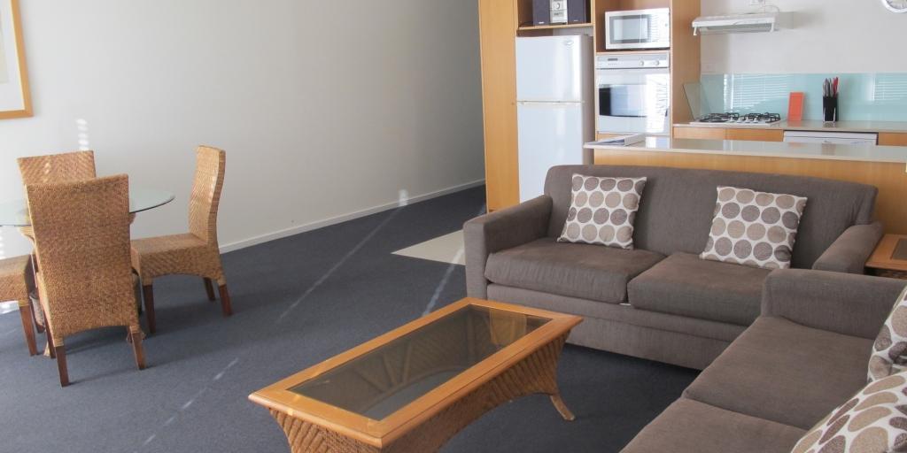 Living Room: Shells Apartments