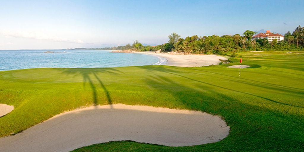 Hole 12 Bintan Lagoon Seaview Course