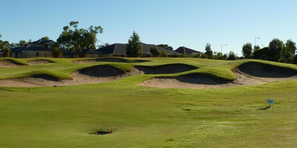 The 6th fairway at The Vines Resort Ellenbrook Course