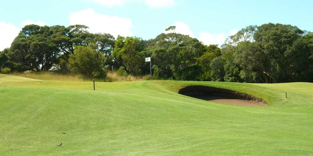 1st Green Moonah Links Open Course