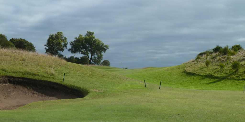 Hole 3 Moonah Links Open Course