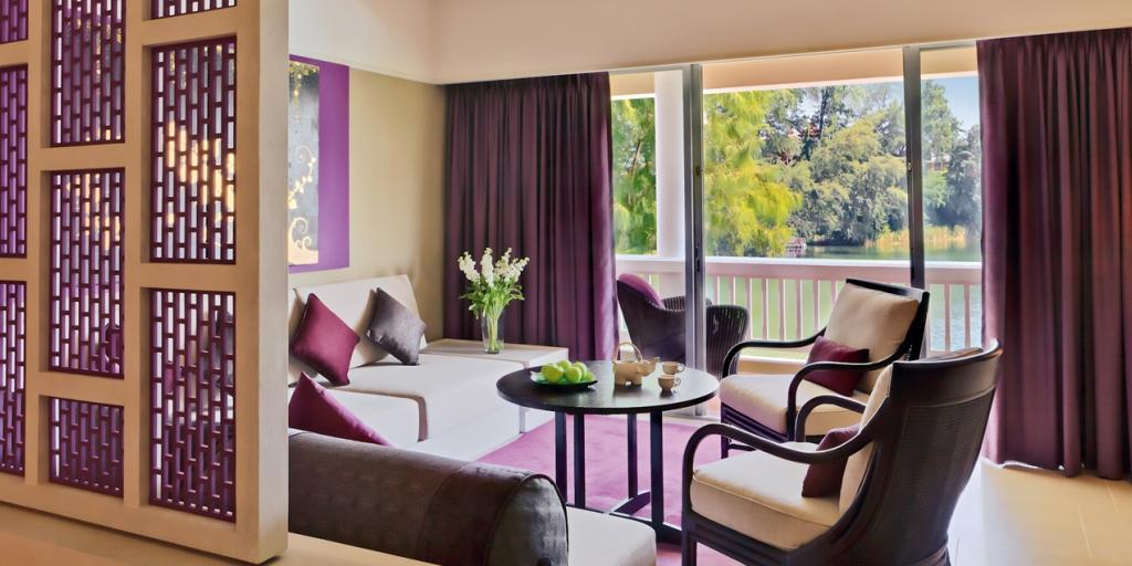 Premier Room Living Area: Angsana Laguna Phuket
